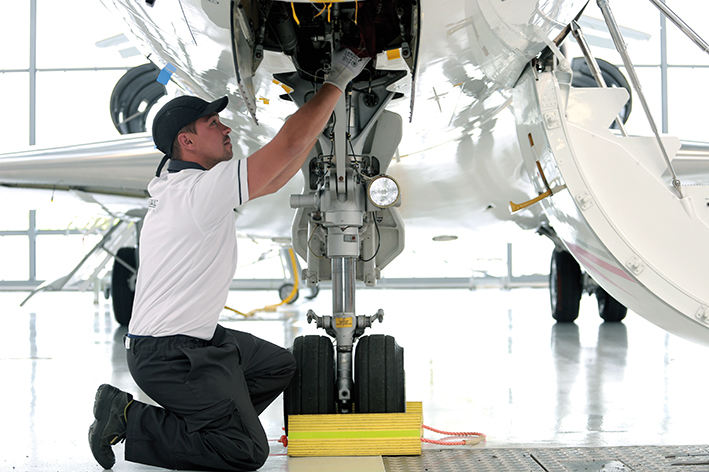 Job Series #9 Aircraft Mechanic at Dassault Falcon Service